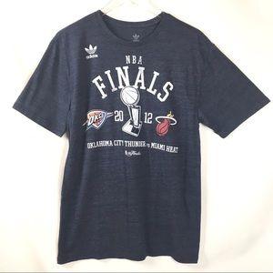 Adidas NBA Finals OKC Thunder vs Miami Heat Shirt